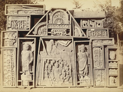 Miscellaneous Buddhist sculptures from Mala Tangi, Peshawar District 10031079